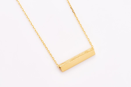 Present triangle open necklace